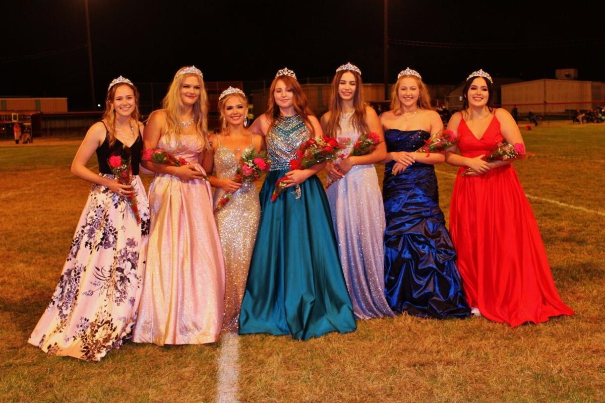 CV 2020 homecoming queen and princesses