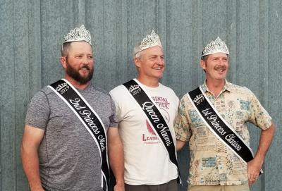 Outgoing Idaho County Fair royalty dads