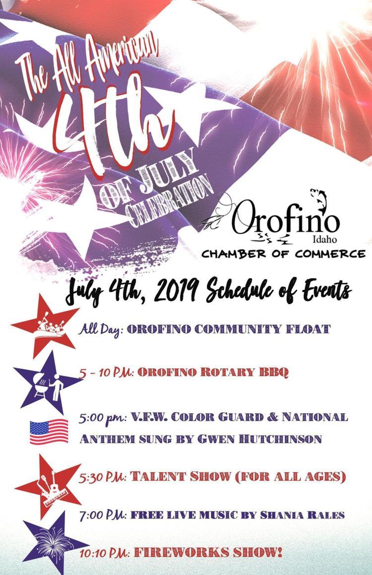 All American 4th of July Celebration - Orofino