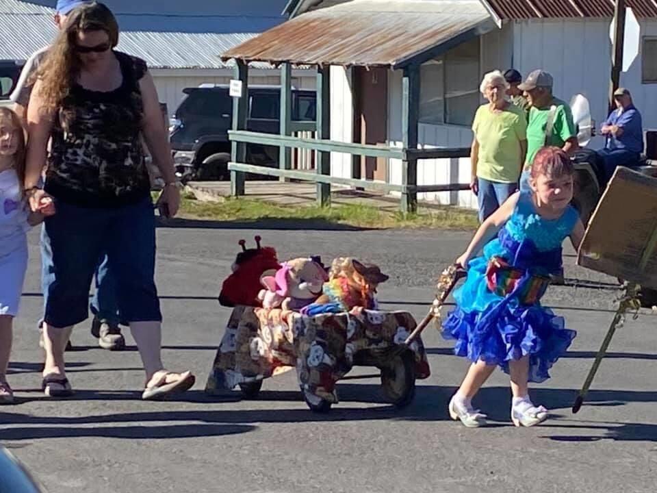Elk City Days Kiddie parade photo