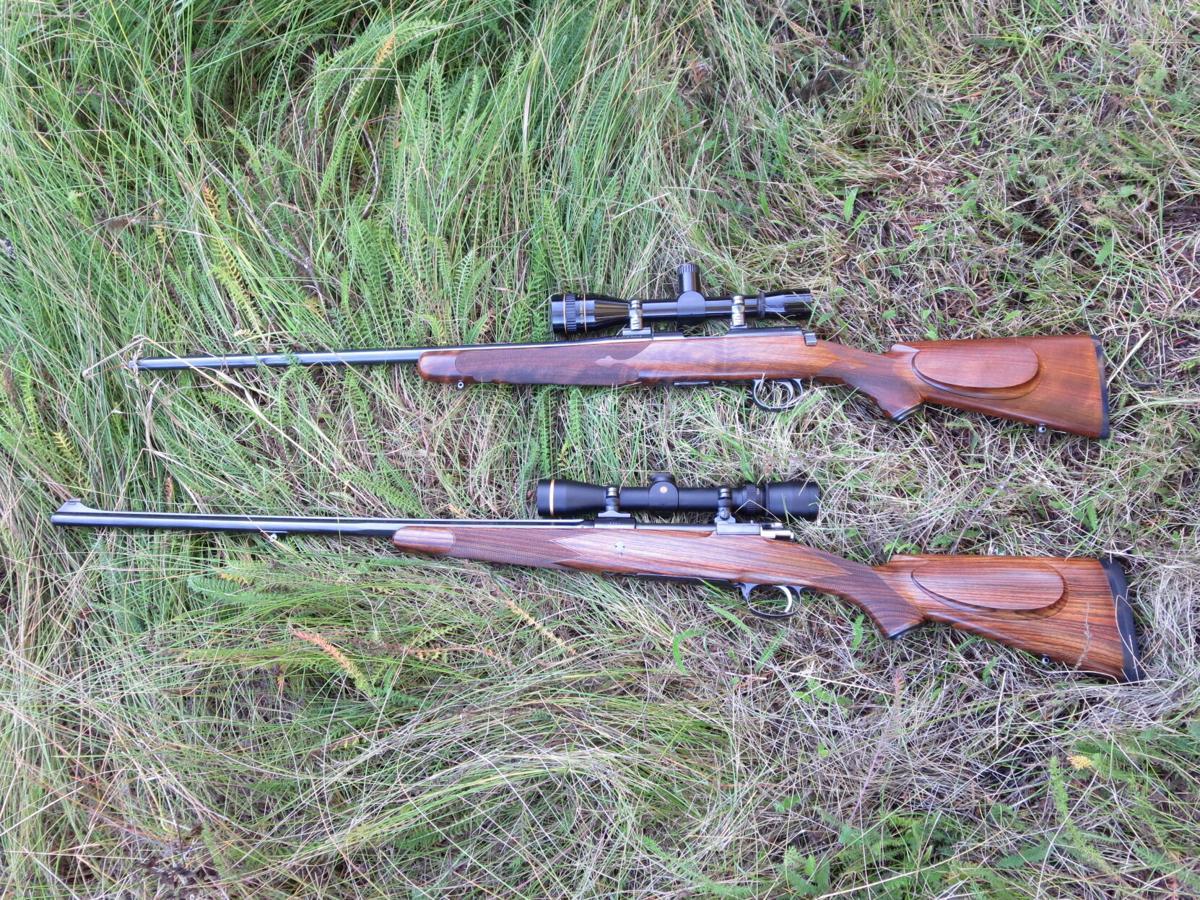 Checkered rifles