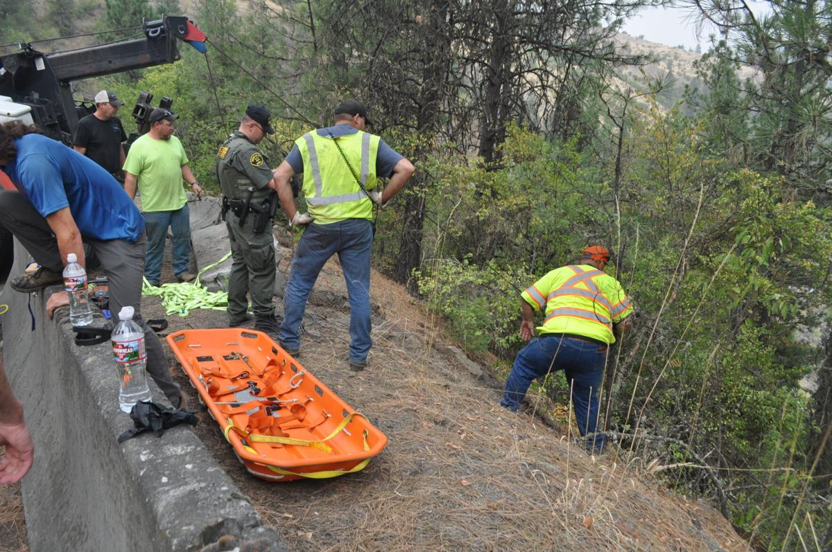 Multiple county and state agencies were involved in extrication and scene assistance.