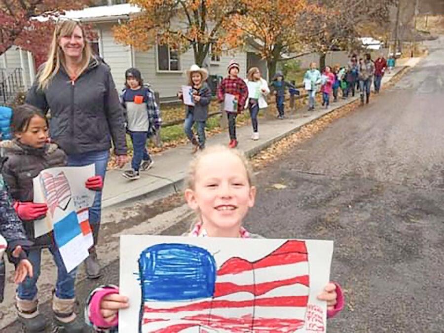 Salmon River school celebrates Veterans Day photo 2