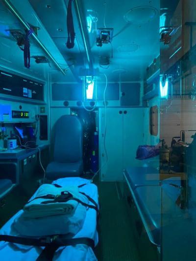 Kooskia ambulance light photo