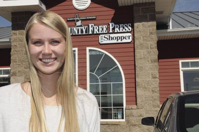 Arnzen interns at Free Press, Shopper