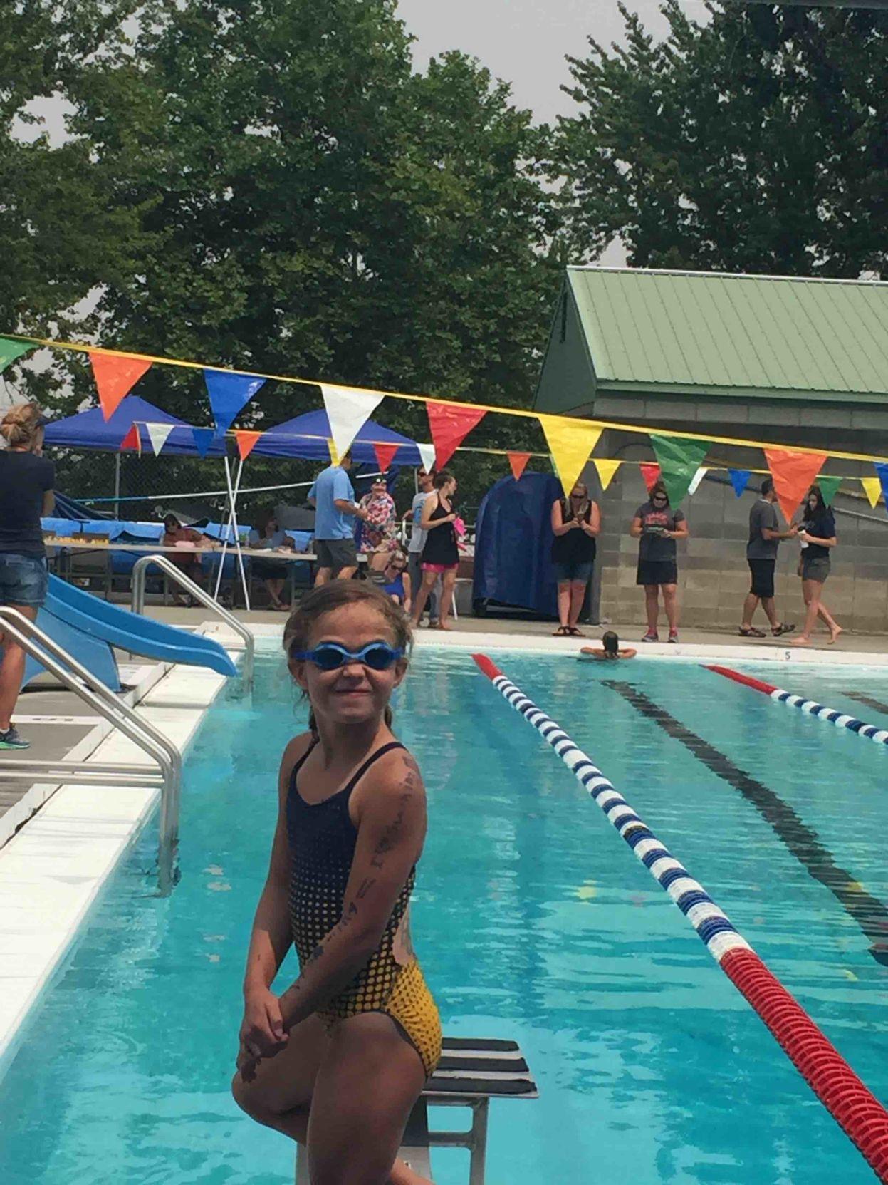 Nezperce swim team