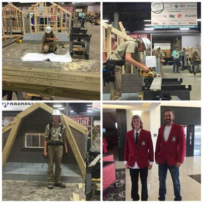 Stowers takes second place at national SkillsUSA competition in Kentucky; Grangeville family members attend event