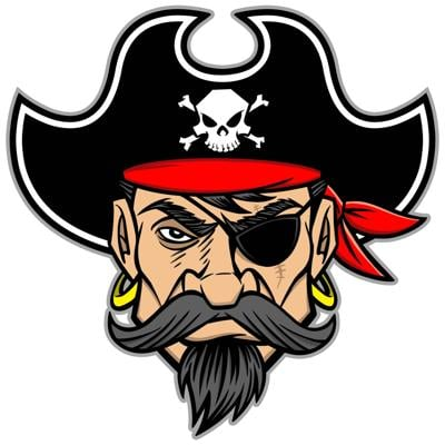 Prairie pirate logo