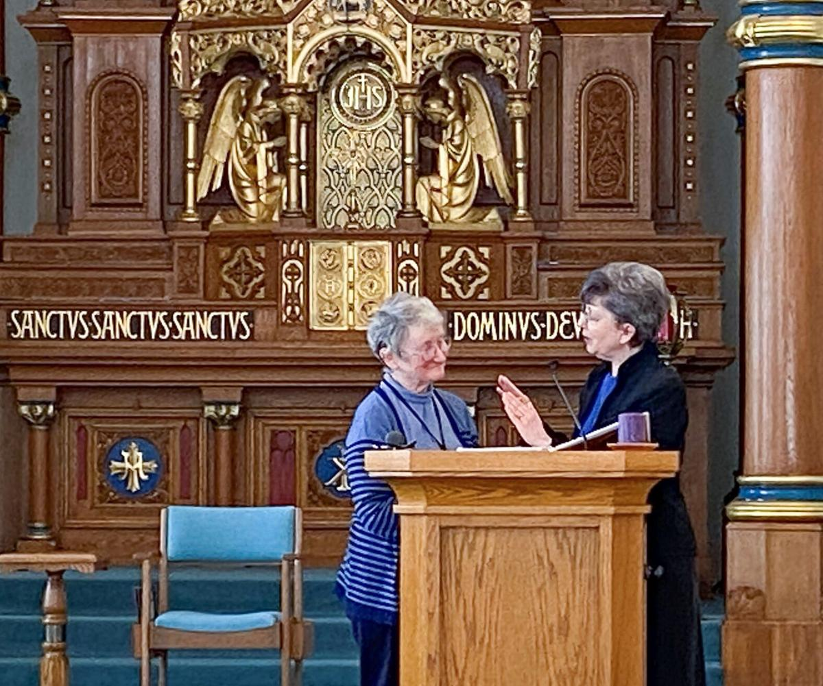 Sister Mary Forman re-elected Prioress photo 2