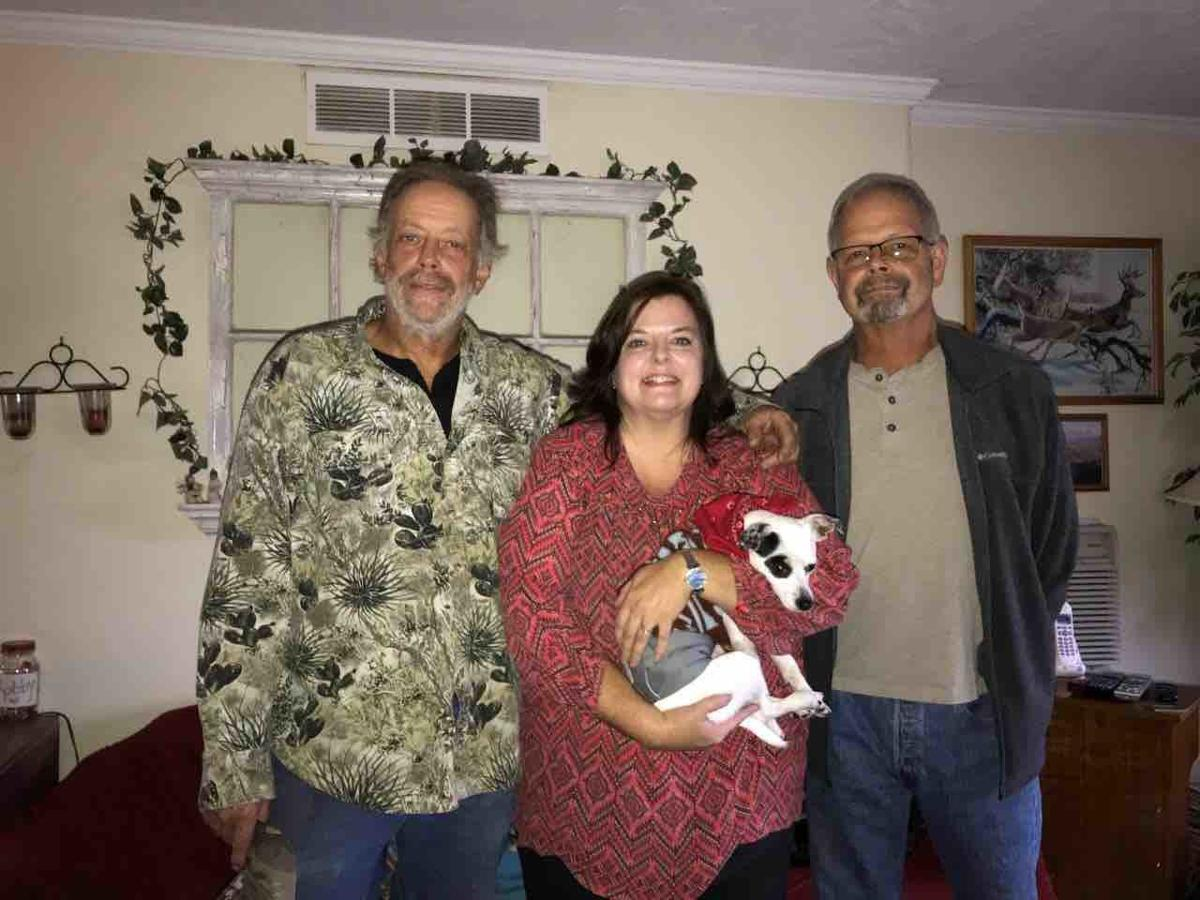 Lorie Palmer and her brothers Steve and Dave