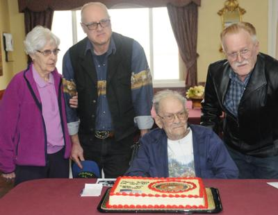 Melvin Gribble celebrates 94 years
