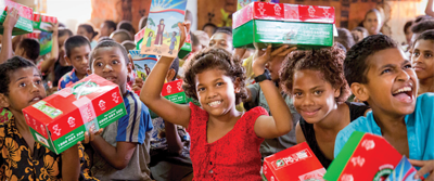ALACCA Bible Camp is drop-off place for 'Operation Christmas Child' shoeboxes