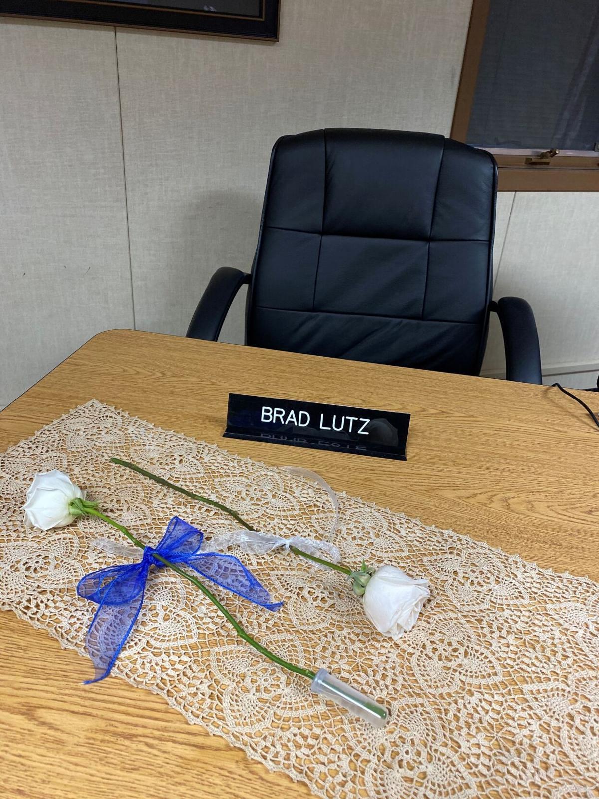 Brad Lutz's chair photo