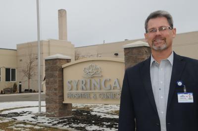 Abner King, Syringa Hospital CEO