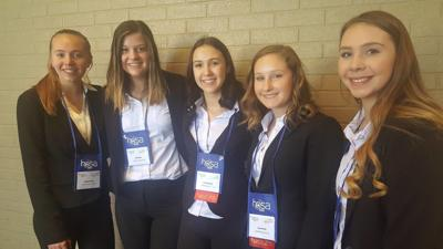NHS  students  shine  at  HOSA  conference
