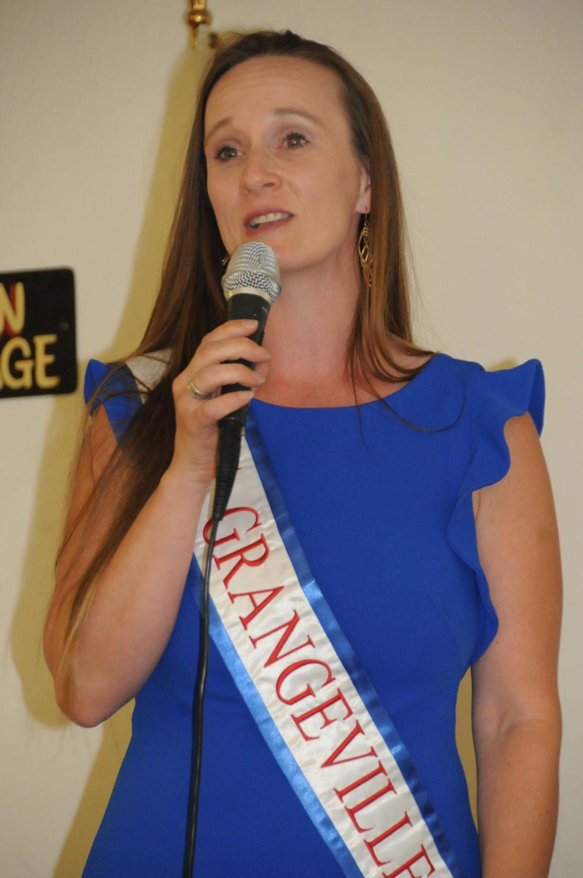 Mrs. Grangeville sponsors law enforcement forum