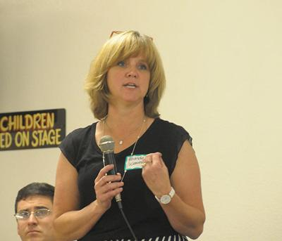 Town hall meeting draws crowd, discussion on hospital renovation