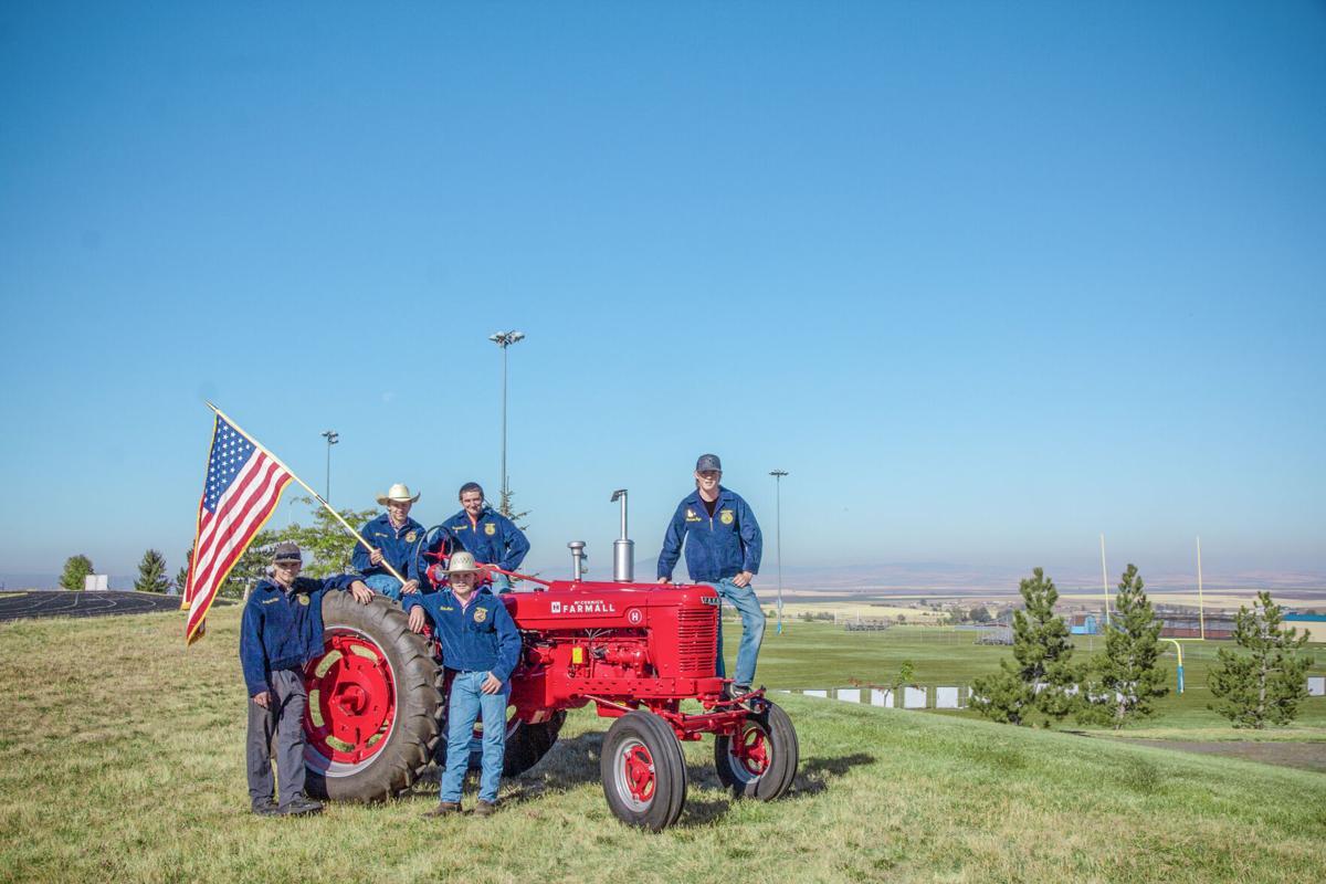 1948 Farmall tractor photo
