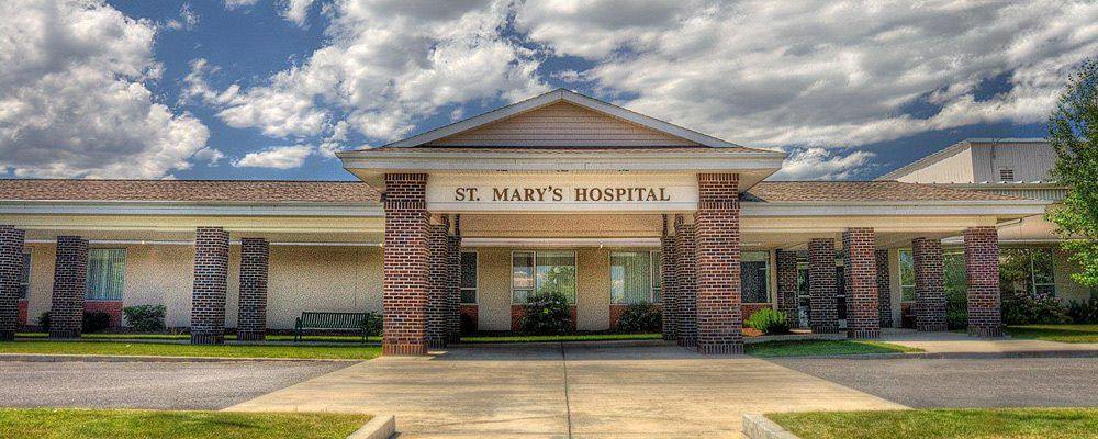 Clearwater Valley, St  Mary's Hospital plan to transfer ownership to