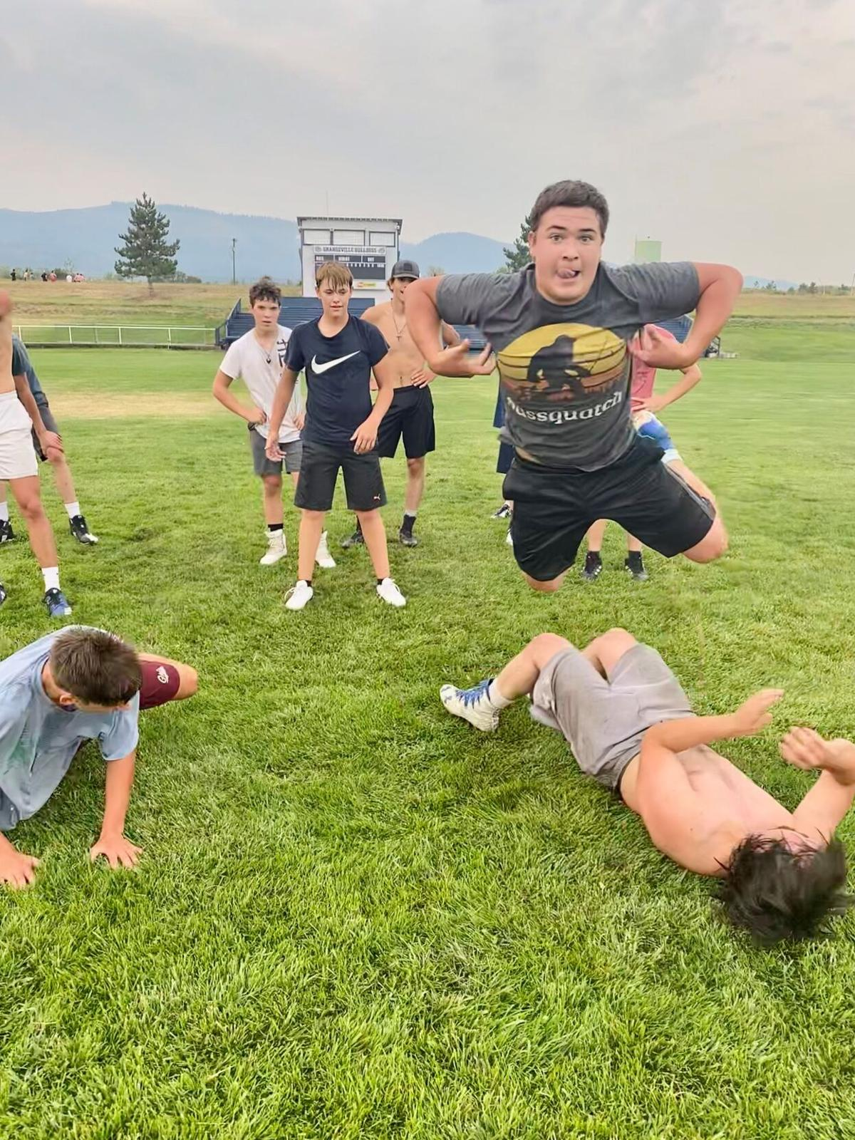 GHS football practice photo