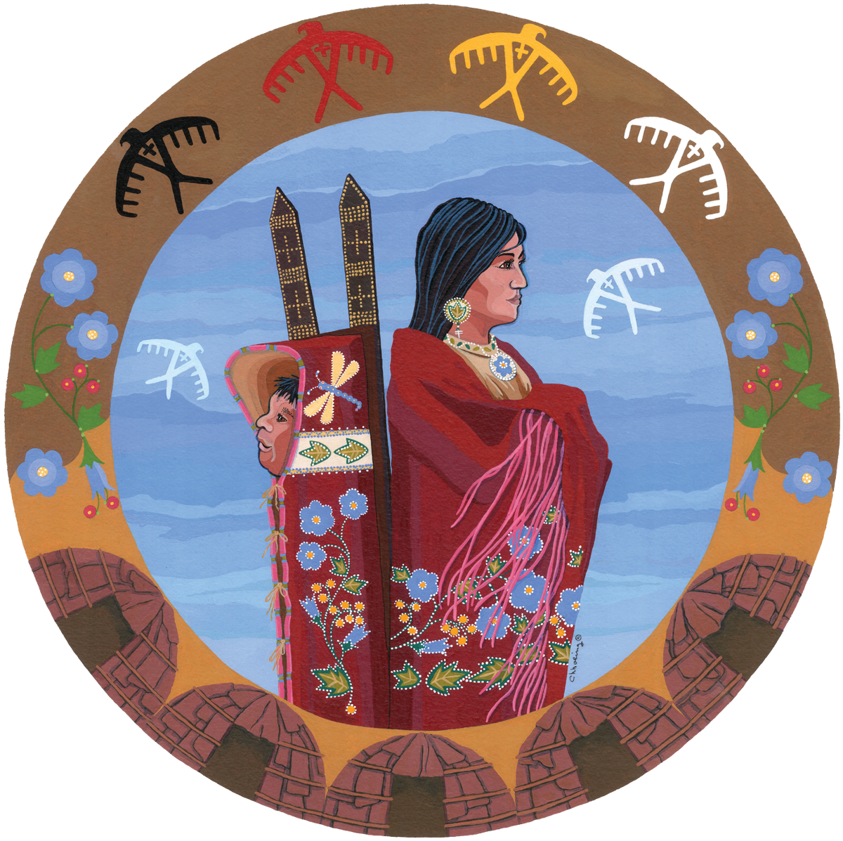 Native Voices logo