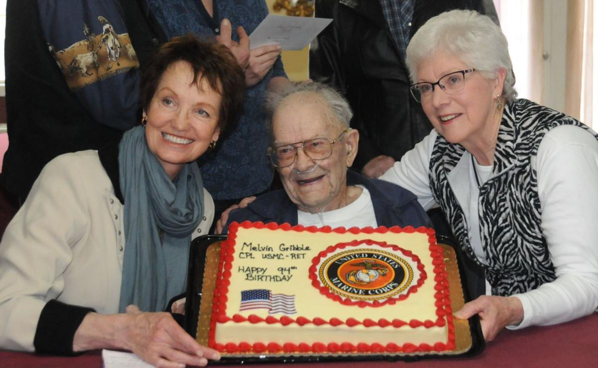 Melvin Gribble celebrates birthday with family, friends