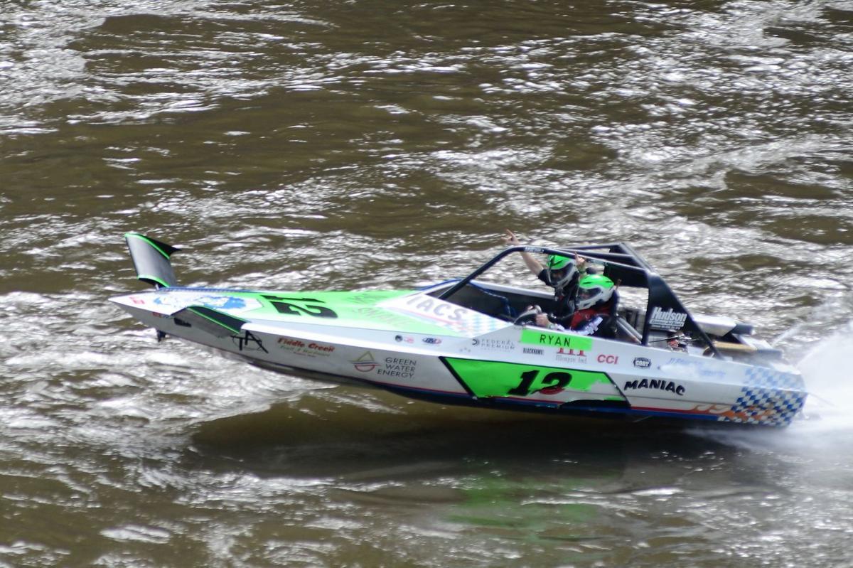 Ryan Hudson jet boating