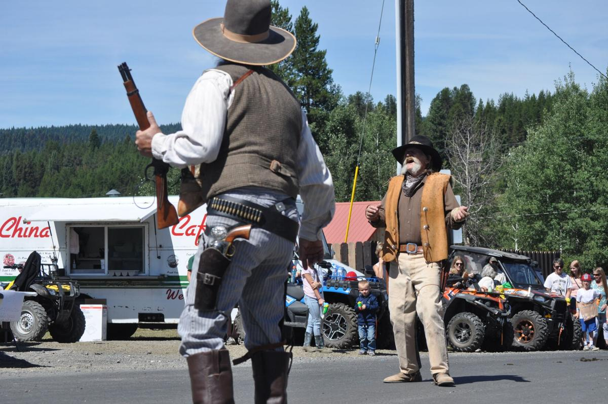 "Elk City Days ""Old West skit"""