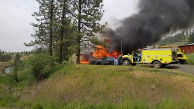 Kooskia mobile home fire