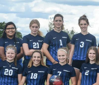 Grangeville girls soccer team 2019