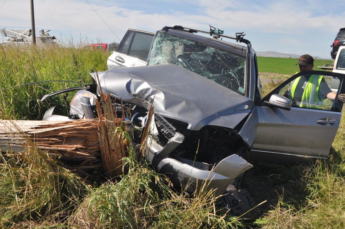 Mercedes accident
