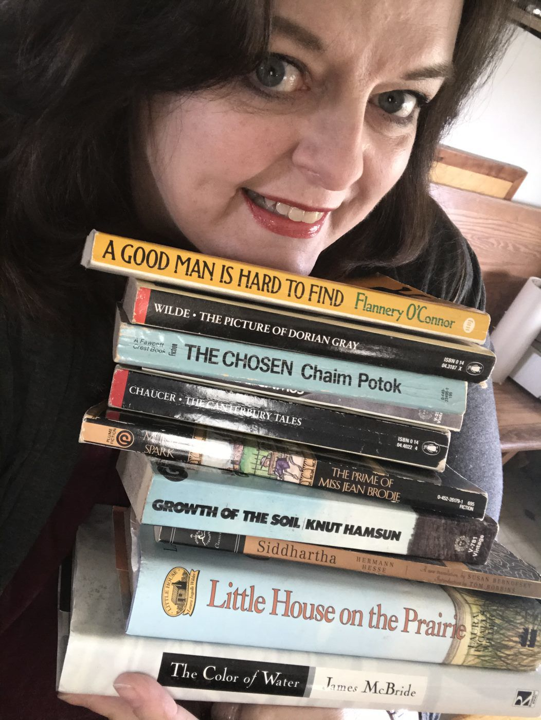 Lorie Palmer has a variety of favorite books