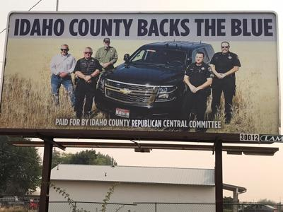 Idaho County backs the Blue photo