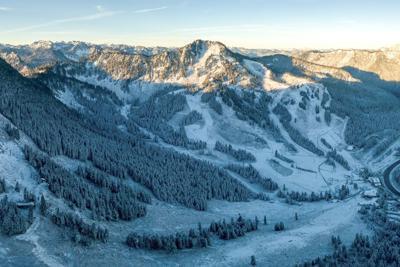 Stevens Pass First Snow