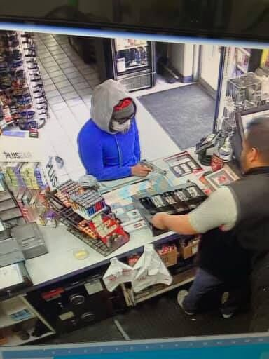 armed robbery broadway