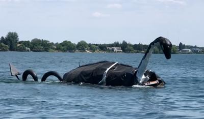 Loch Ness float