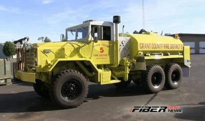 Off Road Fire Truck >> Grant County Fire District 5 Builds A New Improved Offroad