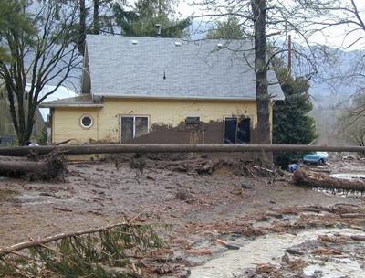 debris flood