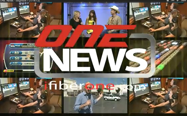 iFIBRE ONE News (1/14/13)