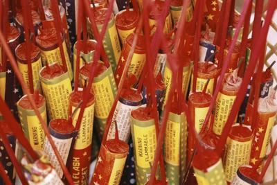 Fireworks rockets aerial - Visions of America-RF.jpg