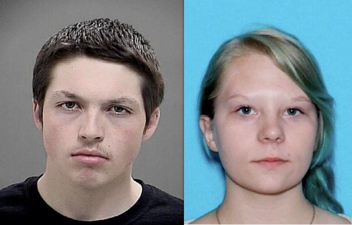 Parker M. Bachtold and Shalin E. Alltus in 2014. Convicted in Okanogan County murder of Patrick M. Alltus of Riverside.