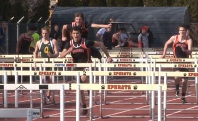 Boys' 100 meter hurdles