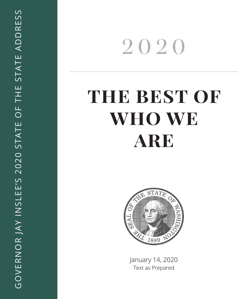 2020 State of the State Address