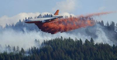 Wildfire tanker