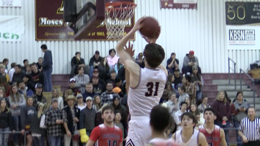 Moses Lake boys blow out Eisenhower, advance to district semifinals
