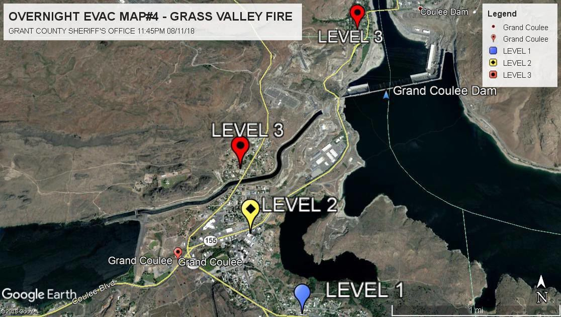 UPDATE Grass Valley Fire evacuations expected to downgrade by