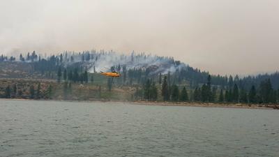 Williams Flats fire