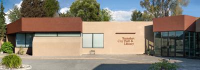 Tonasket WA City Hall and Library