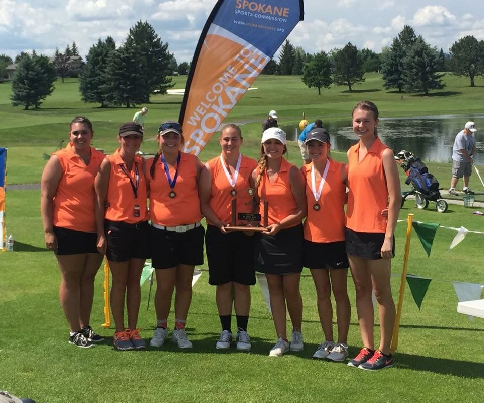Ephrata Tigers 2A Girls Golf Champion
