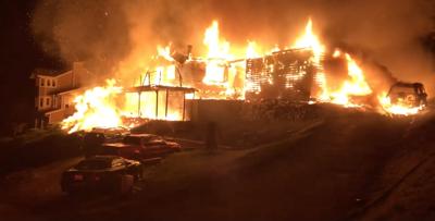 Sunnybanks fire